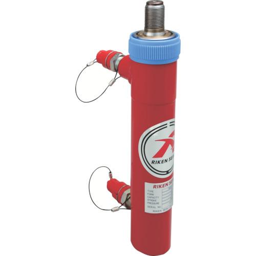 理研機器:RIKEN 単動式油圧シリンダー MC05-25VC 型式:MC05-25VC