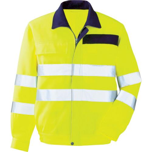 ミドリ安全:ミドリ安全 高視認 ブルゾン イエロー LL VE 324-UE-LL 型式:VE 324-UE-LL