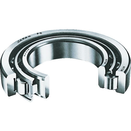 NTN:NTN 円筒ころ軸受 NU形 内輪径110mm 外輪径200mm 幅38mm NU222 型式:NU222