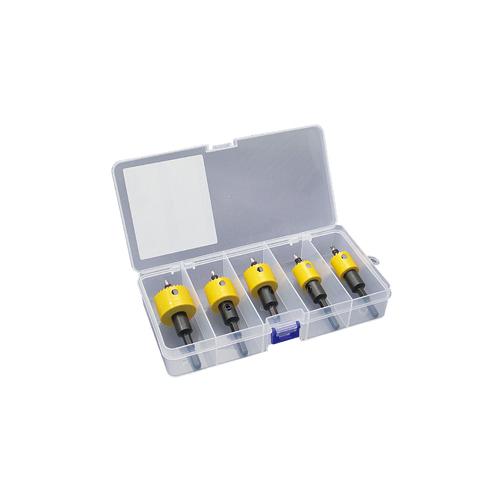 ジェフコム:充電バイメタルホールソーセット(プラケース入) 型式:JHU-2133