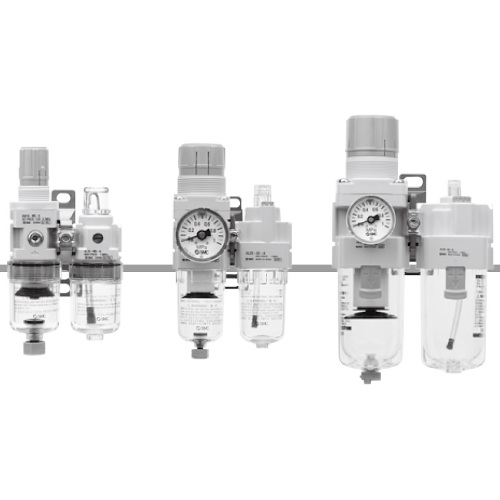 SMC:モジュラタイプエアコンビネーション 型式:AC20A-02-A(1セット:10個入)