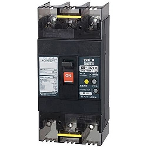 テンパール工業:Eシリーズ(経済タイプ)漏電遮断器 型式:103EC10W2