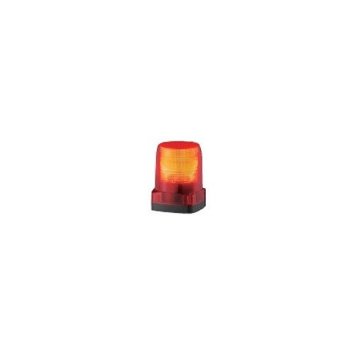 激安店舗 パトライト:LED小型フラッシュ表示灯 型式:LFH-48S-C:配管部品 店-DIY・工具