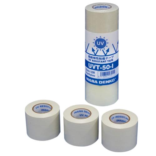 因幡電機産業:高耐候性粘着テープ 型式:UVT-50-I(1セット:24個入)