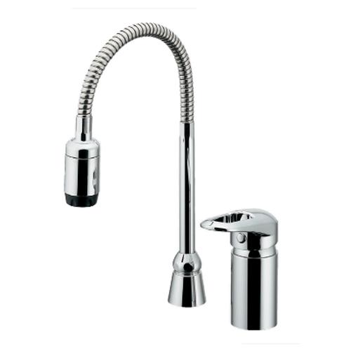 カクダイ:シングルレバー混合栓(シャワーつき) 型式:185-516K