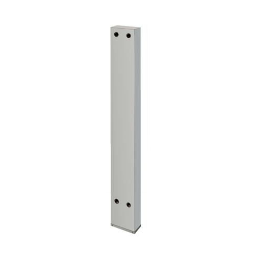 カクダイ:厨房用ステンレス水栓柱(横形水栓用) 型式:624-550-150
