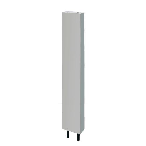 カクダイ:厨房用ステンレス水栓柱(立形水栓用) 型式:624-660S-120