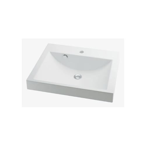 カクダイ:角型洗面器 型式:493-072