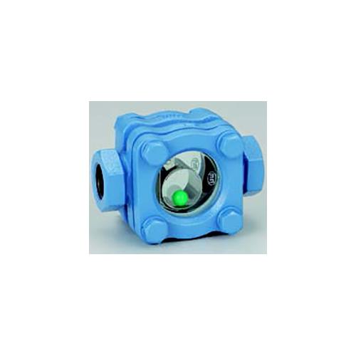 ワシノ機器:ボール式サイトグラス 型式:GEBDS-50