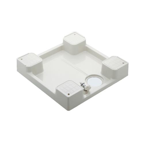 カクダイ:洗濯機用防水パン(水栓つき)(アイボリー) 型式:426-501