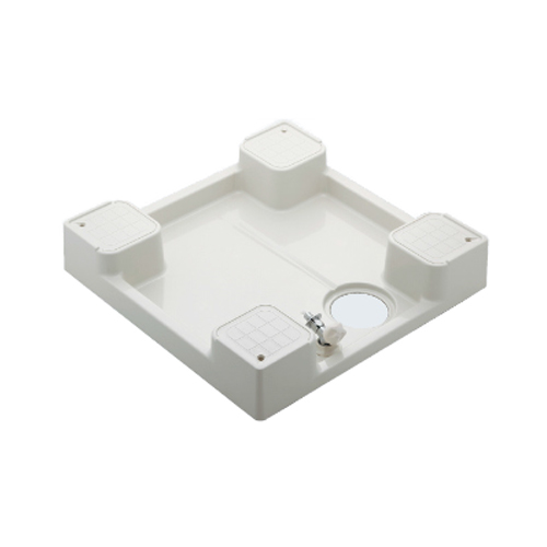 カクダイ:洗濯機用防水パン(水栓つき)(アイボリー) 型式:426-501K