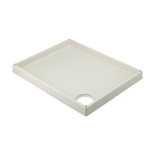 カクダイ:洗濯機用防水パン(アイボリー) 型式:426-421-R