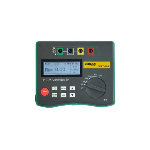 ジェフコム:デジタル接地抵抗計 型式:DERT-20K