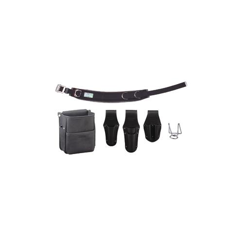 手数料安い ジェフコム:電工プロ腰道具セット 型式:JNDS-R96BK-SET:配管部品 店-DIY・工具
