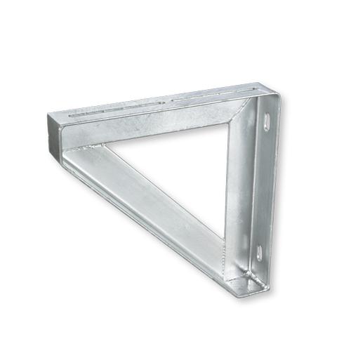 日栄インテック:三角ブラケット(ステンレス) 型式:N-080501-550
