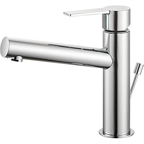 SANEI(旧:三栄水栓製作所):シングルワンホール洗面混合栓 型式:K4750PV-13