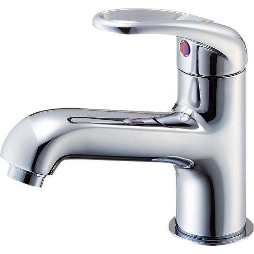 SANEI(旧:三栄水栓製作所):シングルワンホール洗面混合栓 型式:K4710NJV-13
