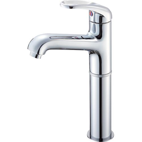 SANEI(旧:三栄水栓製作所):シングルワンホール洗面混合栓 型式:K4710NJK-2T-13