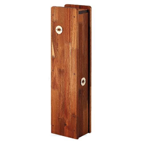 カクダイ:角水栓柱用化粧カバー(木) 型式:624-138