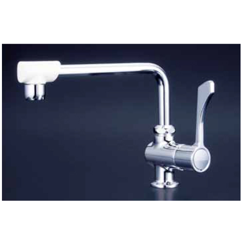 KVK:ワンタッチハンドル付泡沫立形自在水栓 型式:K1802FR3