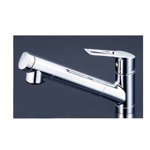 KVK:浄水器内蔵シングルレバー式シャワー付混合栓 型式:KM6001EC
