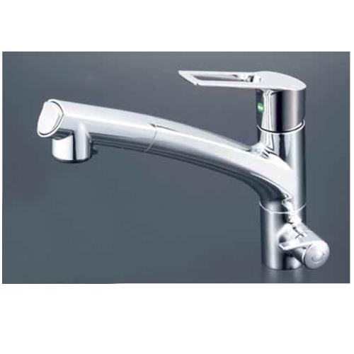 KVK:浄水器付シングルレバー式シャワー付混合栓 型式:KM5061NSCEC