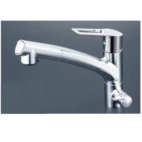 KVK:浄水器専用シングルレバー式シャワー付混合栓 型式:KM5061NEC