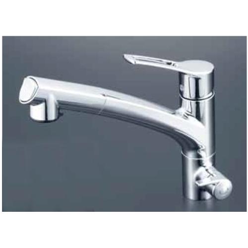 KVK:浄水器付シングルレバー式シャワー付混合栓 型式:KM5061NSCCK