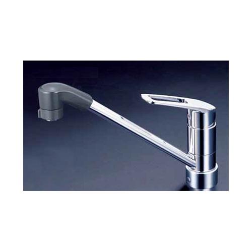 KVK:流し台用シングルレバー式シャワー付混合栓 型式:KM5211JTF