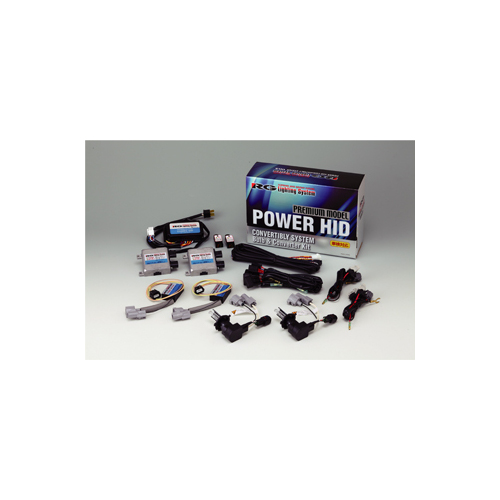RG(RACING GEAR):ハロゲン車用HIDキット(12V)プレミアムモデル 型式:RGH-CBP78
