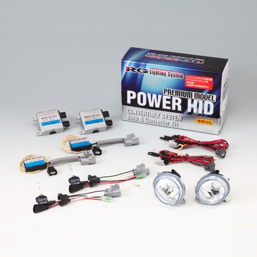 RG(RACING GEAR):POWER HID フォグキットC 型式:RGH-CB869T3