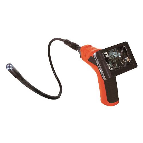日動工業:ファイバースコープ LCDモニター付 型式:IES35-3