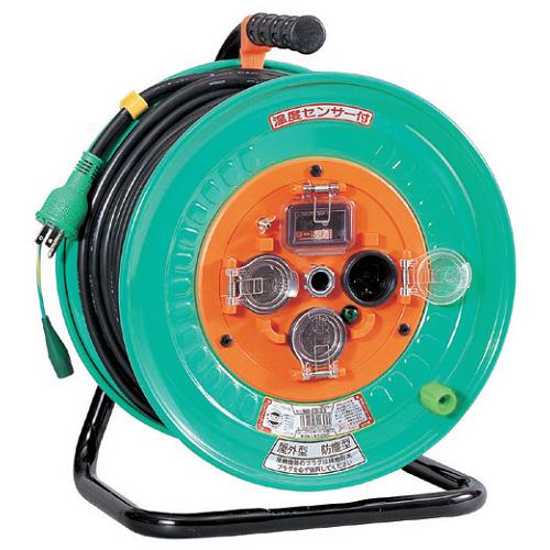 日動工業:防雨・防塵型ドラム 50m 型式:NW-EB53
