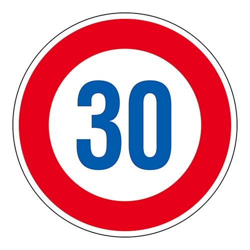 日本緑十字社:道路標識 型式:道路323-30K(AL)(133674)
