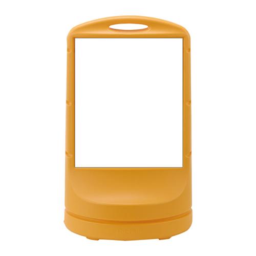 日本緑十字社:スタンドサイン 型式:RSS80-1(無地)(398001)