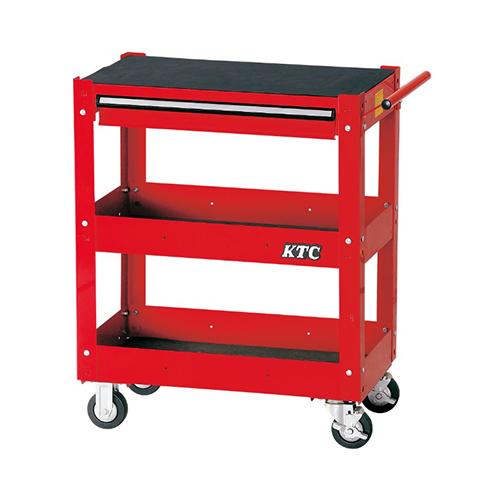 京都機械工具(KTC):ワゴン(3段1引出し) 型式:SKX2613