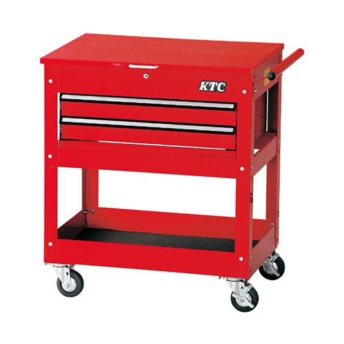 京都機械工具(KTC):ワゴン(1段2引出し) 型式:SKX2614