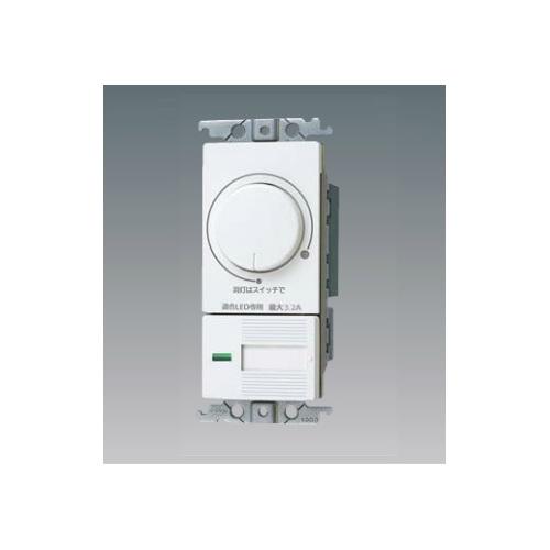 パナソニック:LED埋込逆位相調光スイッチ 3.2A 型式:WTC57583W