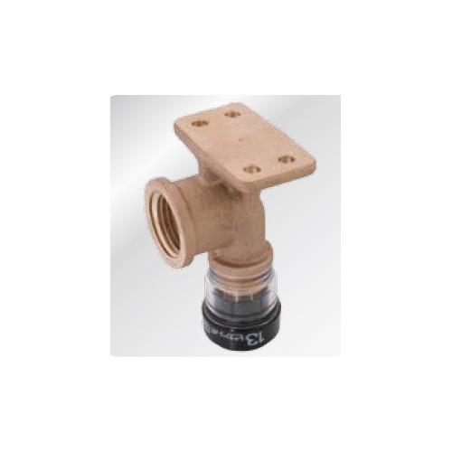東尾メック:Picappo ピカッポ 台付き給水栓エルボ 型式:PPDWL10(1セット:12個入)