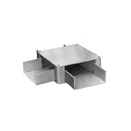 未来工業:プラスチックダクト用 分岐ボックス 3方出 型式:PDB-10203