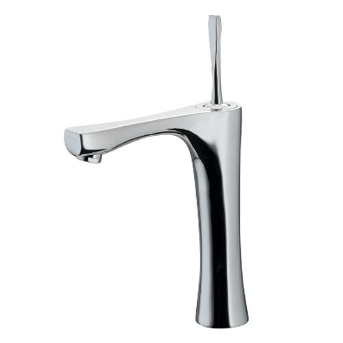 カクダイ:シングルレバー混合栓(ミドル) 型式:183-233GN-BP