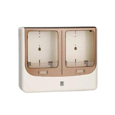未来工業:電力量計ボックス(バイザー付) 型式:WPN-3WM
