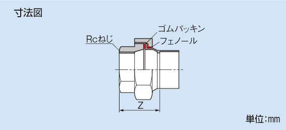 因幡電機産業:絶縁ユニオン 型式:ZU5398