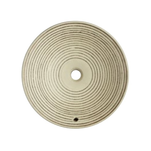 SANEI(旧:三栄水栓製作所):手洗器(埋込型・オーバーフロー) 利楽 渦 型式:HW1024P-009