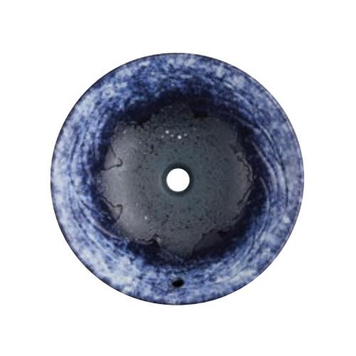 SANEI(旧:三栄水栓製作所):手洗器(埋込型・オーバーフロー) 利楽 碧空 型式:HW1024P-016