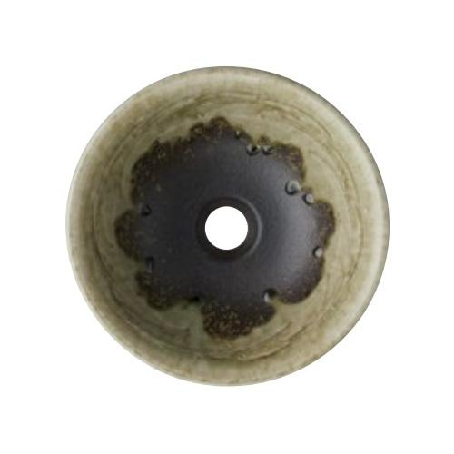 SANEI(旧:三栄水栓製作所):手洗器(埋込型) 利楽 翠緑 型式:HW10230-023
