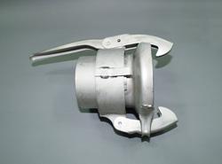 """大塔テック:パロットカップリング ガス管溶接タイプ雌 ステンレス製 型式:MW 89x3"""" SUS(Oリング付)"""