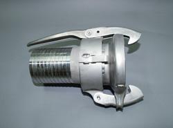 大塔テック:パロットカップリング ホースニップルタイプ雌 鉄製 型式:MN 89x75 鉄(Oリング付)