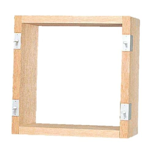 パナソニック:有圧換気扇用木枠 組立式 25cm用 型式:FY-KWU25