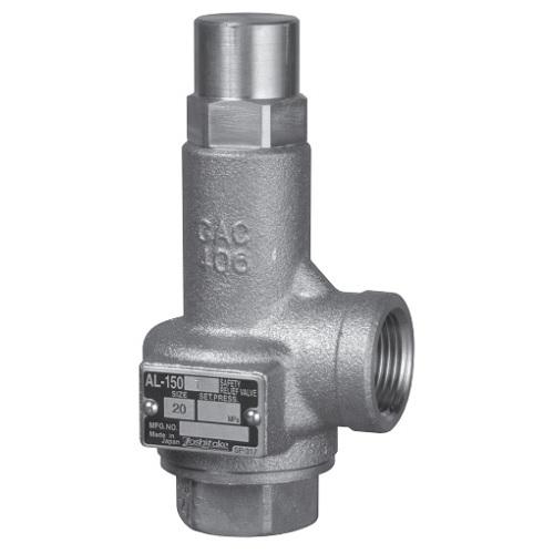 ヨシタケ:安全リリーフ弁 ソフトシート形 型式:AL-150T-N-50A(D)